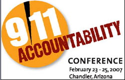 Poster for 9/11 Accountability Conference