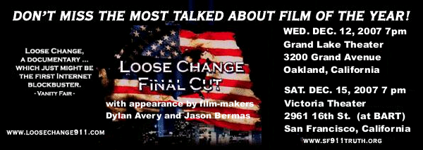 loose change 9 11 With the departure of the bush administration and the arrival of an era of transparency, opportunities are arising for the disclosure of new information that may shed more light on the events that took place before and after 9/11/2001.