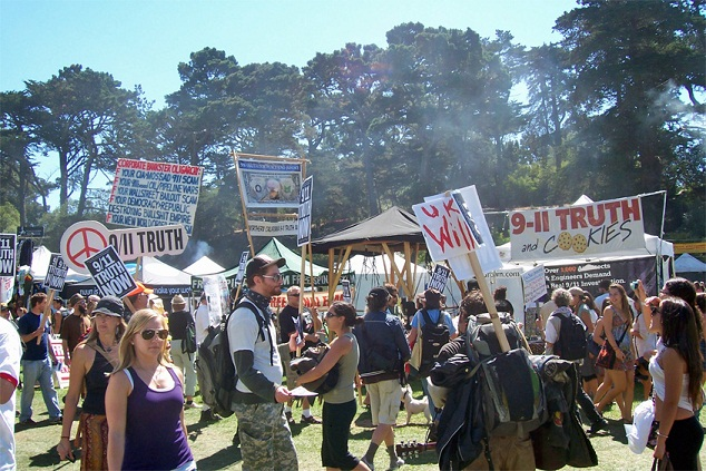 San franciscos 9th annual 9 11 truth rally march satyagraha truth force events report 911blogger com